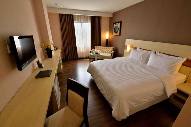 Deluxe Double atau Twin Room Hotel California Bandung