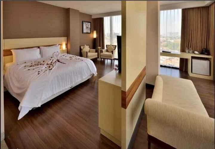 Double Suite hotel california bandung